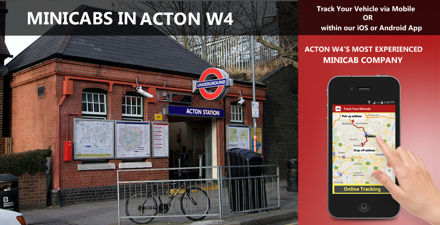minicab-in-Acton w4