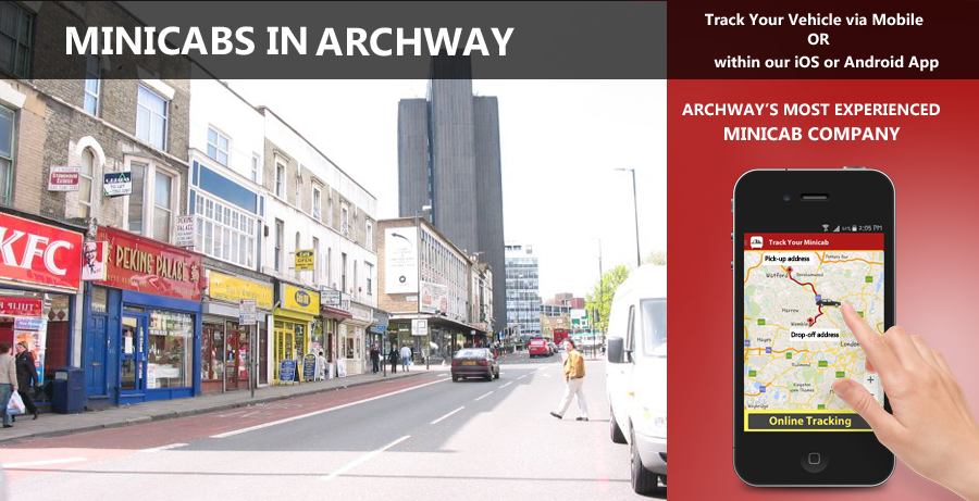 minicab-in-Archway