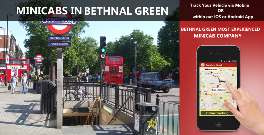 minicab-in-Bethnal Green