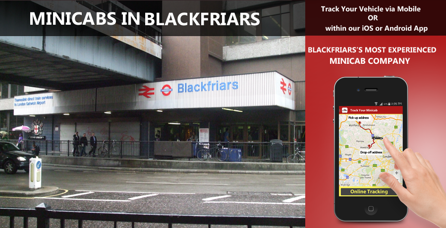 minicab-in-Blackfriars