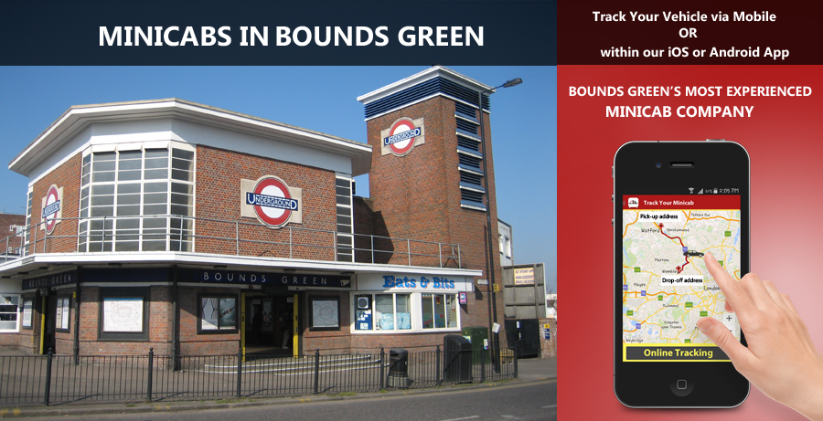 minicab-in-Bounds Green