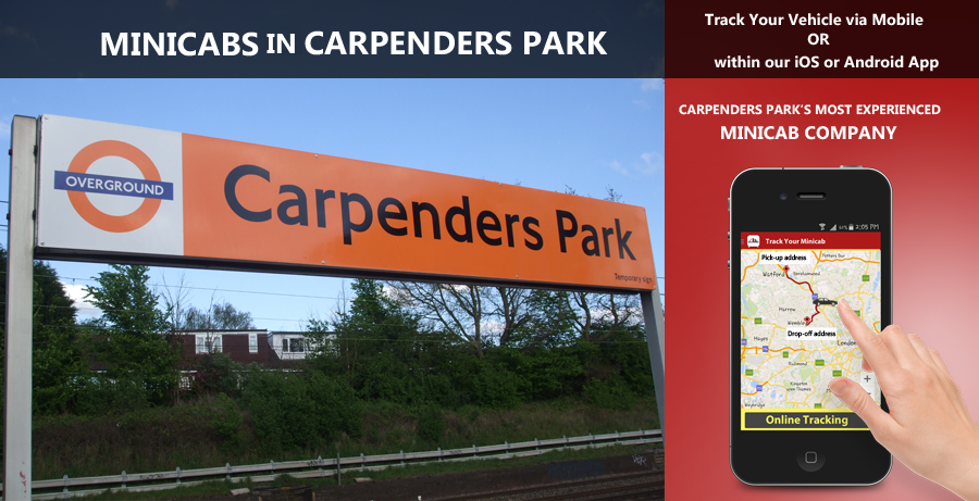 minicab-in-Carpenders Park