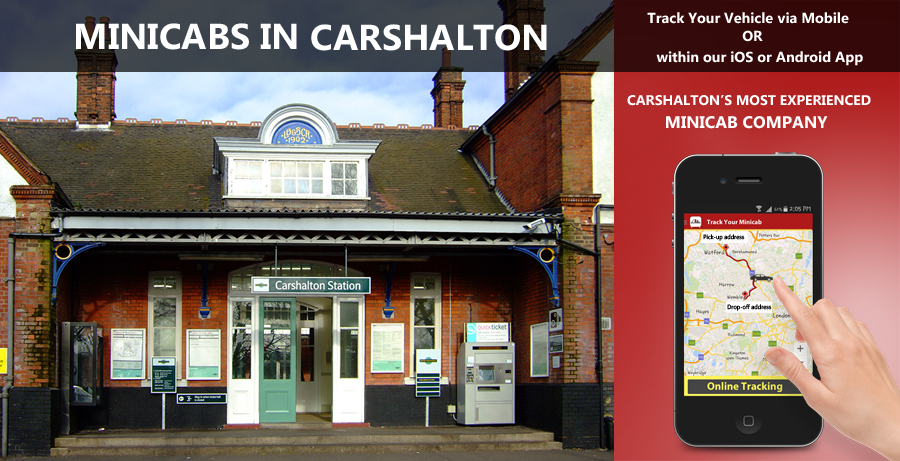 minicab-in-Carshalton