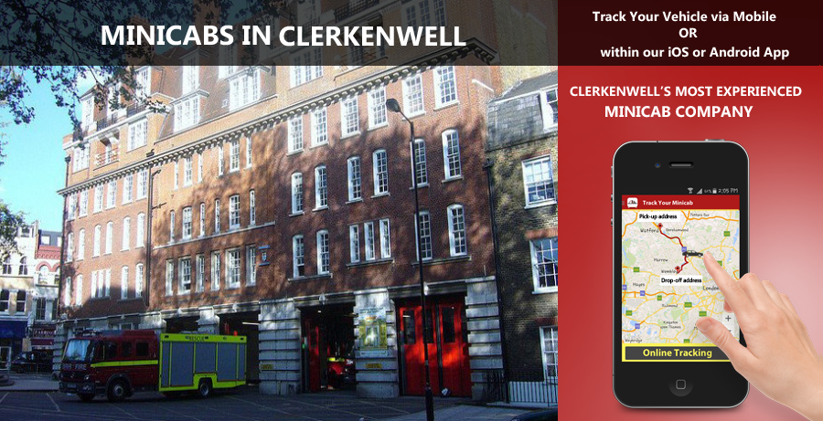 minicab-in-Clerkenwell