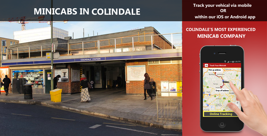 minicab-in-Colindale