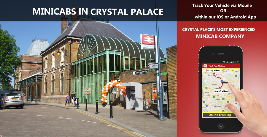 minicab-in-Crystal Palace