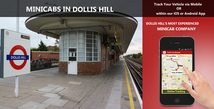 minicab-in-Dollis Hill