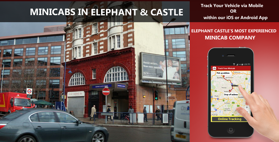 minicab-in-Elephant and Castle