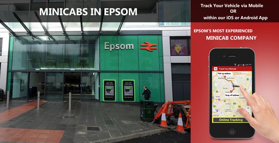 minicab-in-Epsom