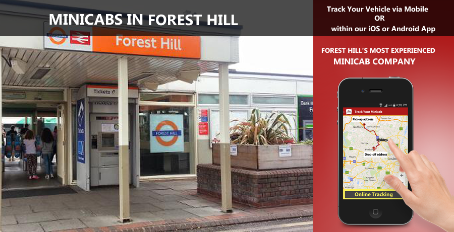 minicab-in-Forest Hill