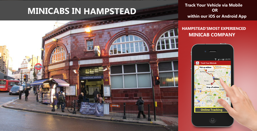 minicab-in-Hampstead