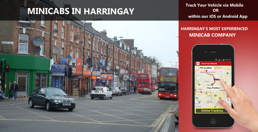 minicab-in-Harringay