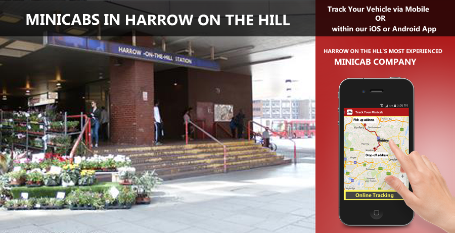 minicab-in-Harrow on the hill