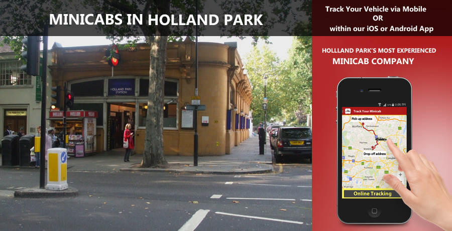 minicab-in-Holland park