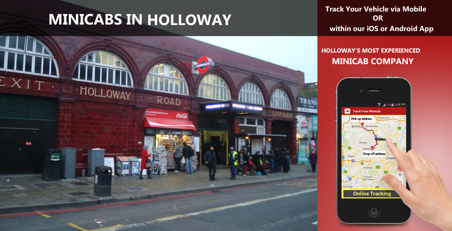 minicab-in-Holloway