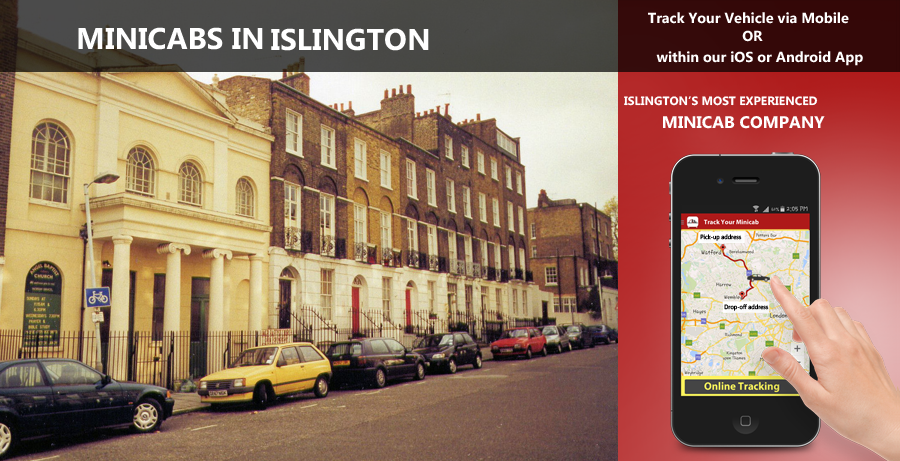 minicab-in-Islington