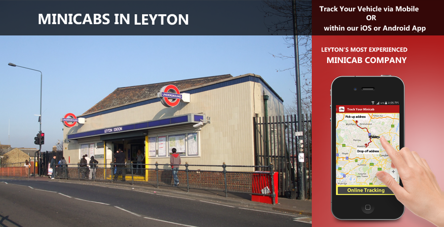minicab-in-Leyton
