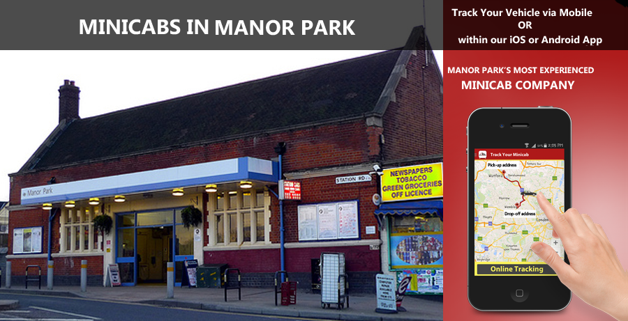 minicab-in-Manor Park