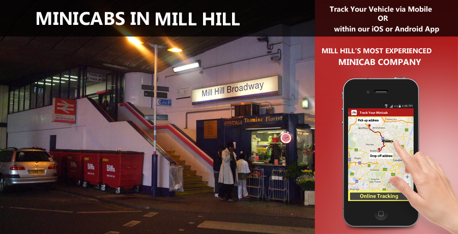 minicab-in-Mill Hill