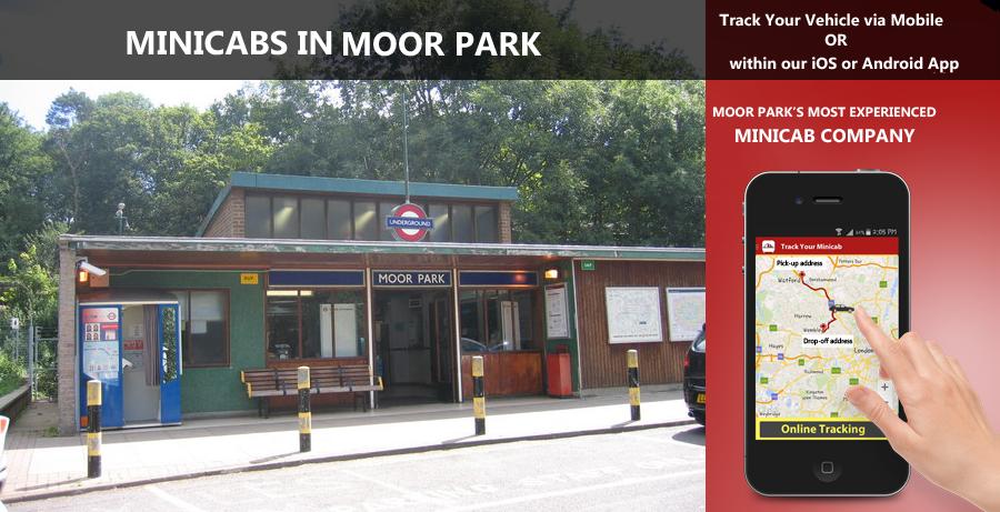 minicab-in-Moor Park