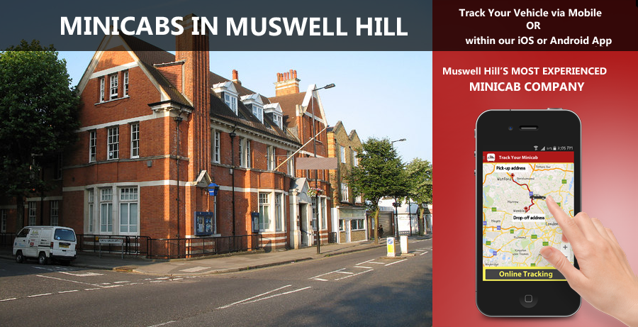 minicab-in-Muswell Hill