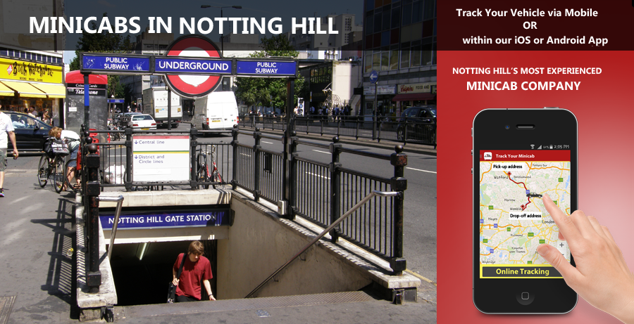 minicab-in-notting hill