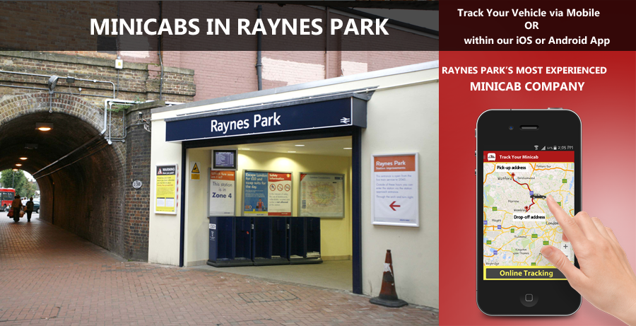 minicab-in-Raynes park