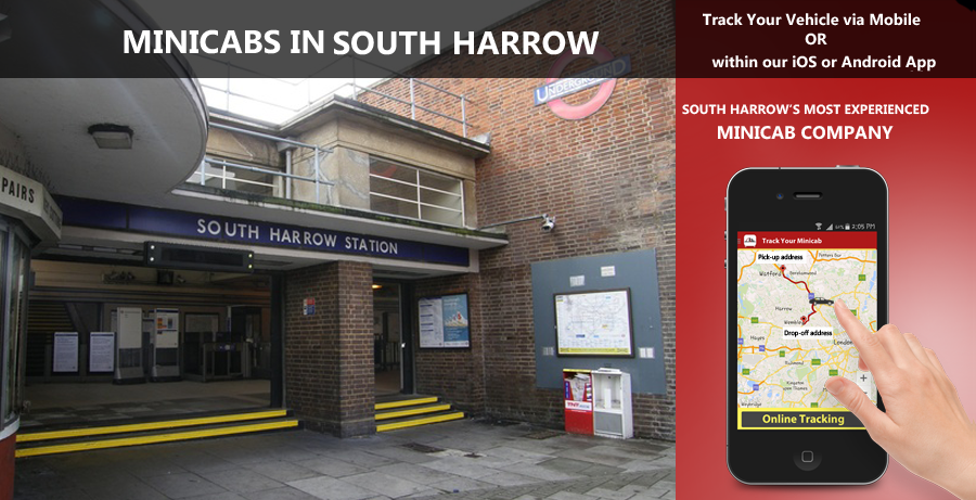 minicab-in-South Harrow