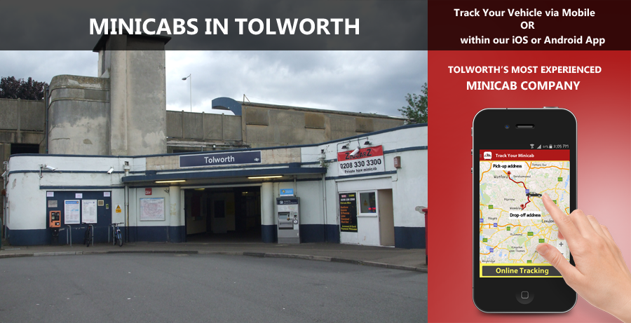 minicab-in-Tolworth
