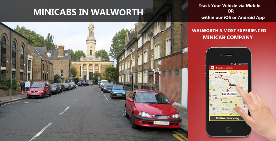 minicab-in-Walworth