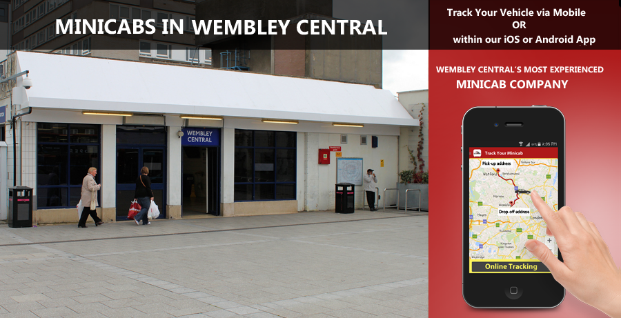 minicab-in-Wembley Central