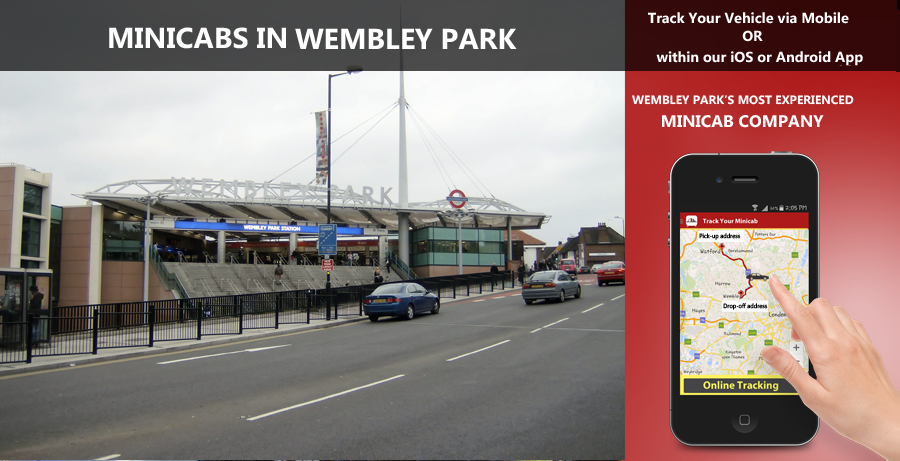 minicab-in-Wembley Park