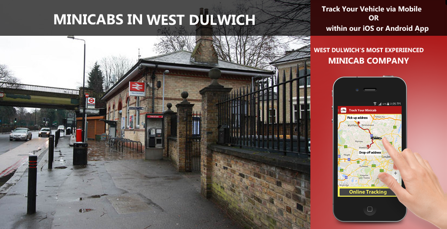 minicab-in-West Dulwich