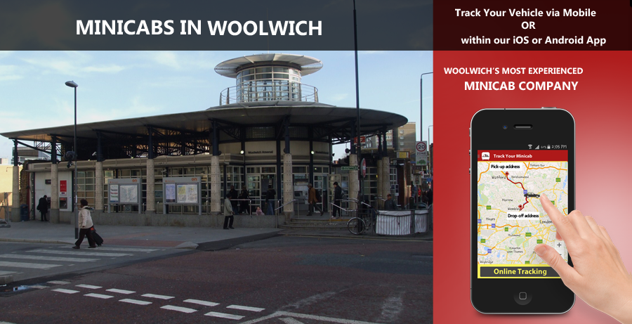minicab-in-Woolwich